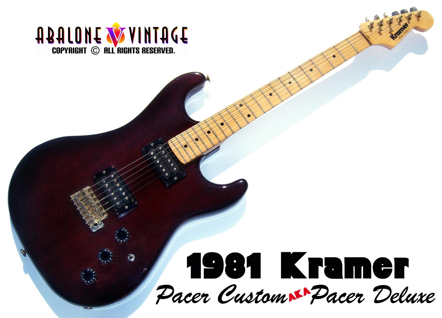 Vintage 1986 Kramer Banana Logo PAF Pickup