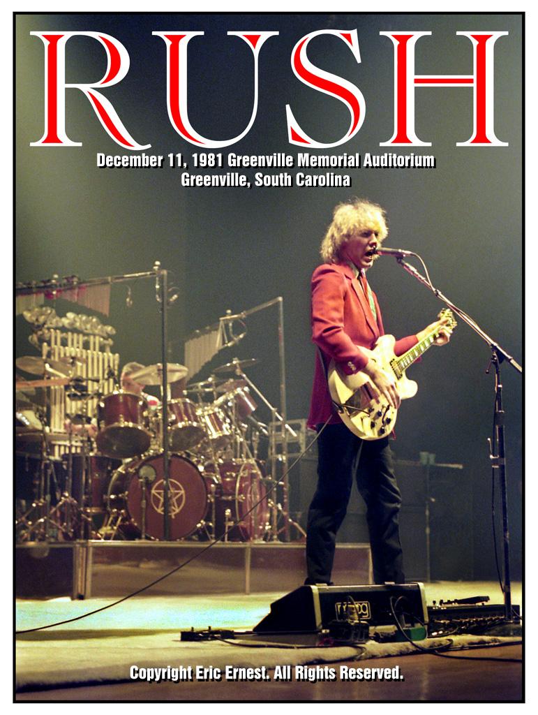 Rush Tour Photos
