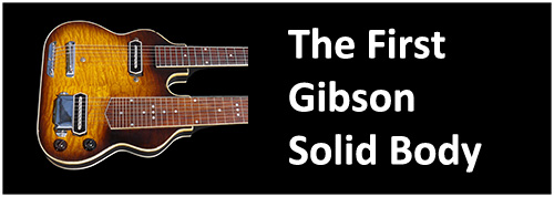 1937 1938 gibson double neck guitar first gibson solid body ever made prototype rare esh150 eshd150 edsh150