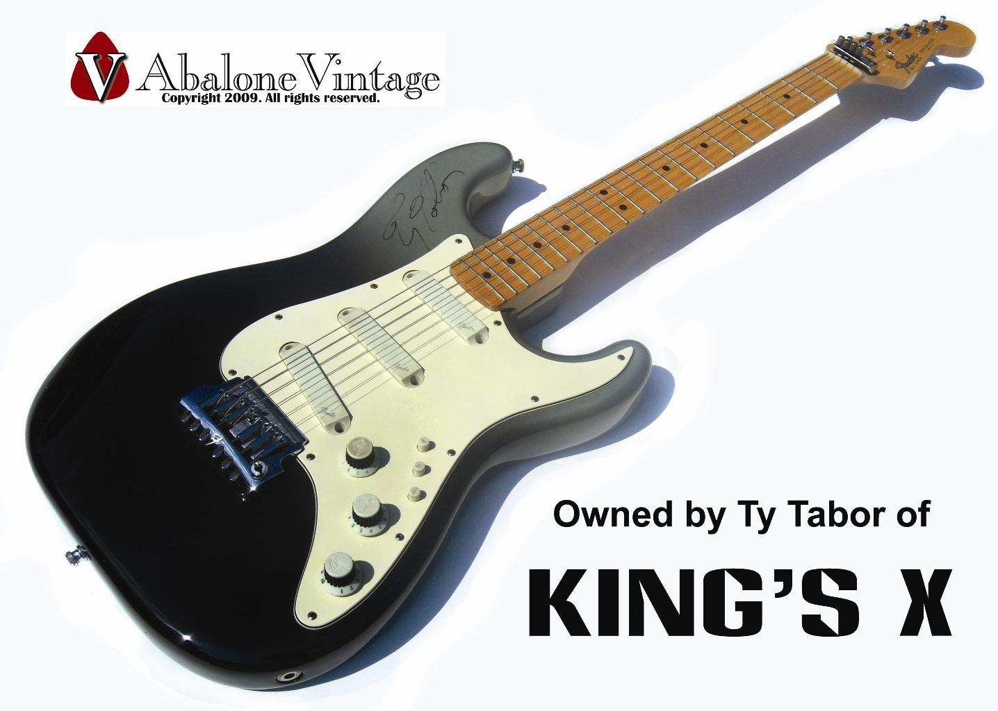 Ty Tabor Kings X King S X Fender Stratocaster Elite Zion