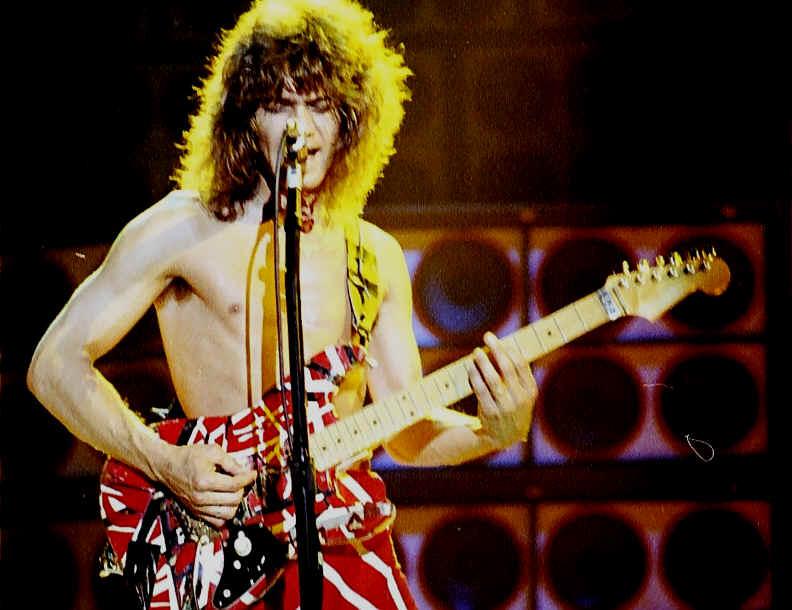 Edward Van Halen Guitars