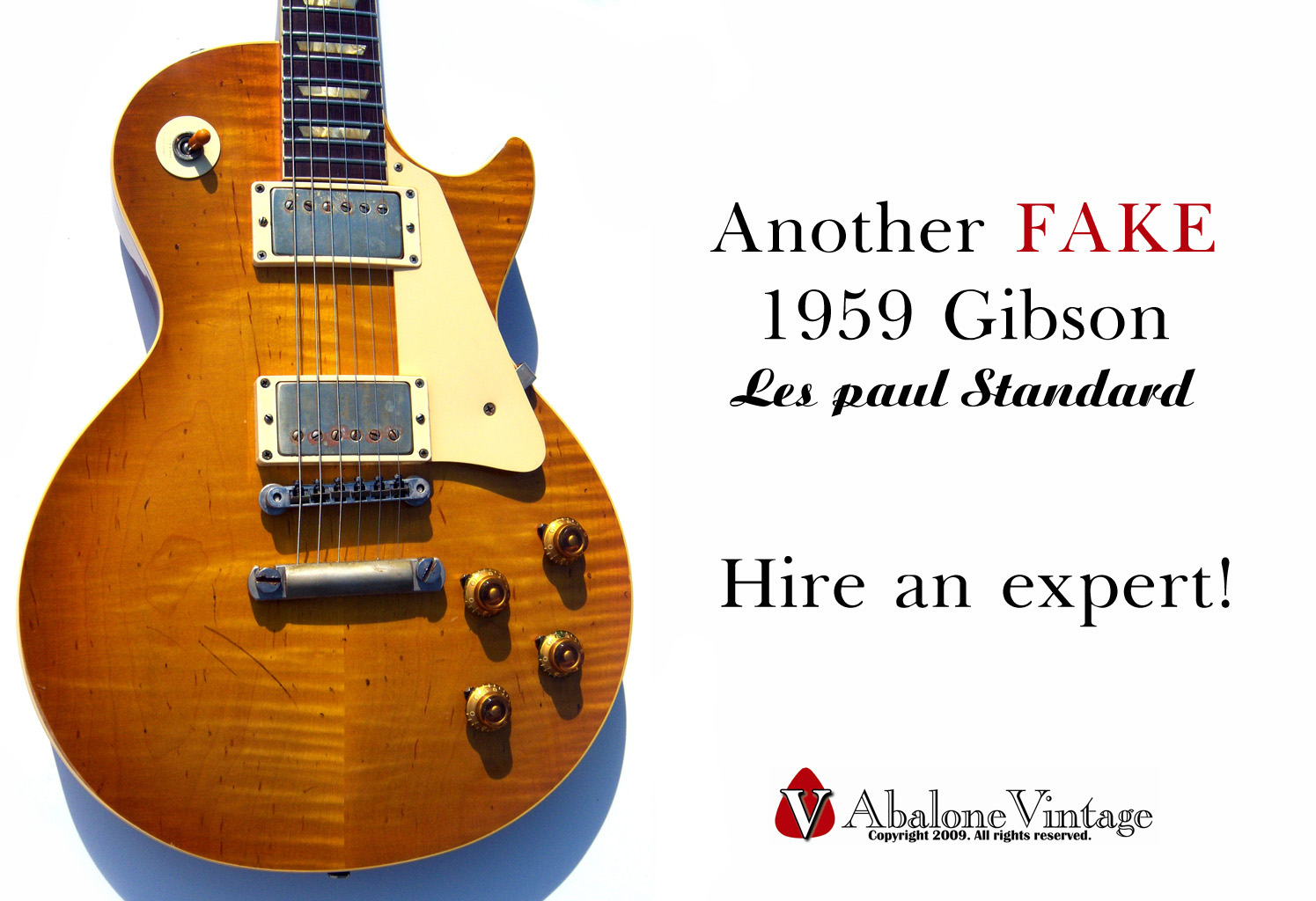 photos of fake 1959 gibson les paul guitars forgery replicas. Black Bedroom Furniture Sets. Home Design Ideas