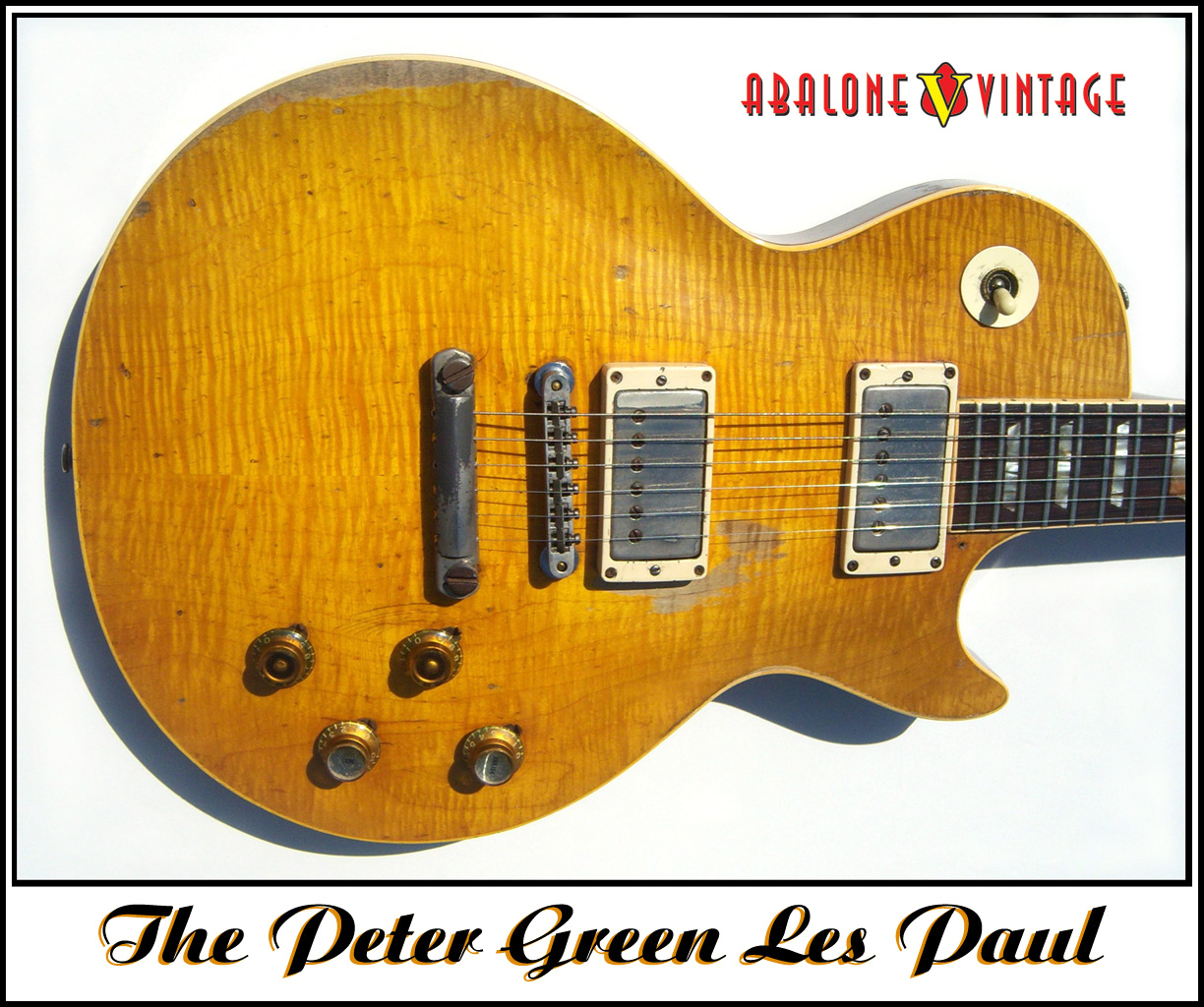 The Peter Green Mod Once Again How To Rewire A Guitar Pickup Les Paul
