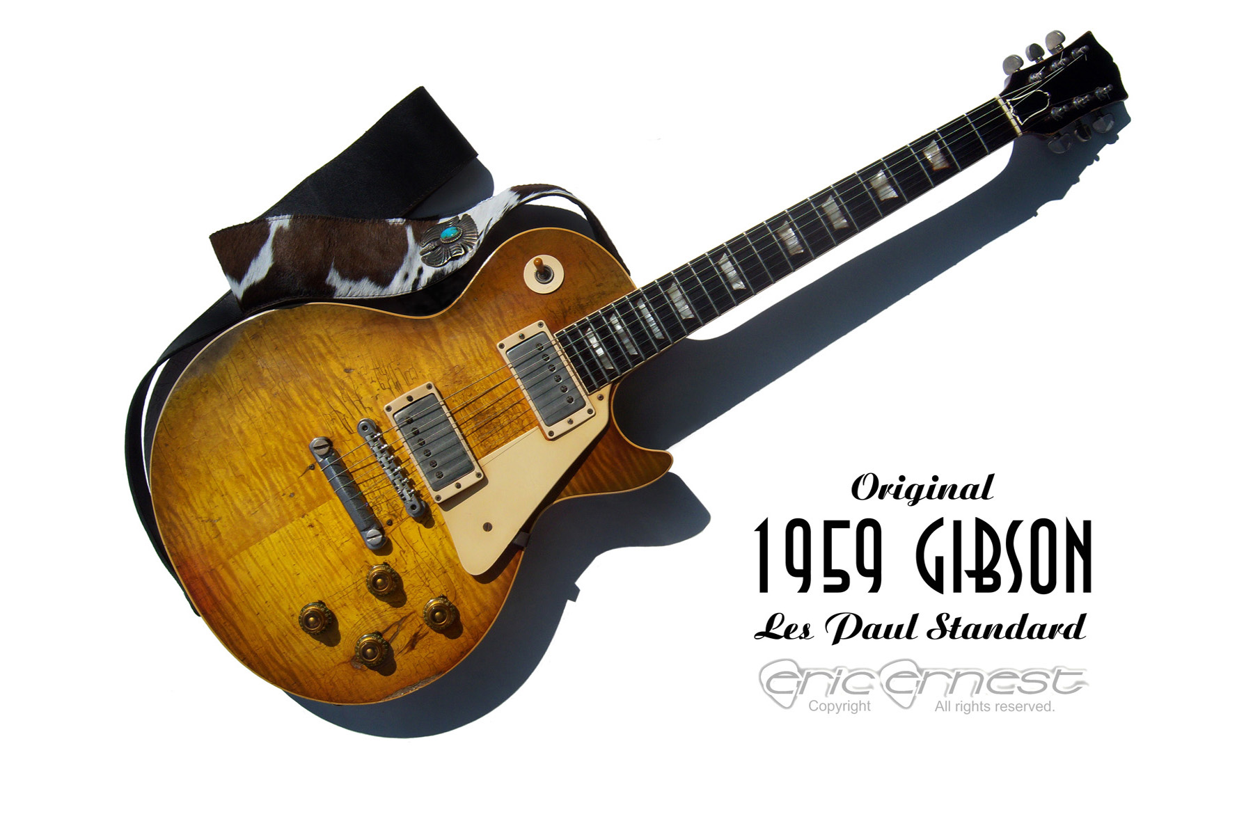 Guitar Wallpapers 1959 Gibson Les Paul Standard Reissue 1800 X 1200