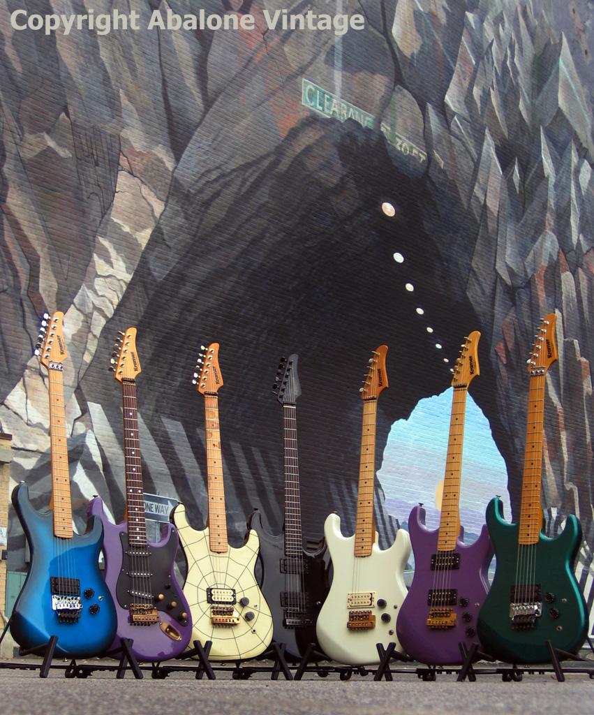 Vintage Kramer Guitar photos KRAMER KAFE Abalone Vintage